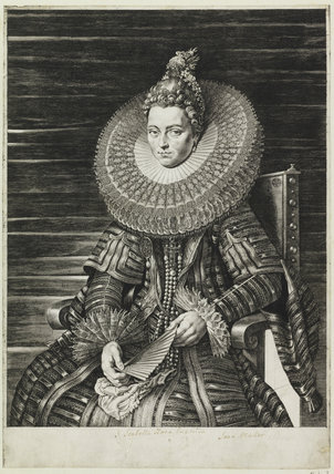 Isabella Clara Eugenia, Infanta of Spain, by Jan Harmensz. Muller