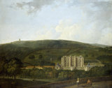 A view of Elizabethan Chatsworth