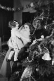 Christmas time at a home for evacuees in Henley-on-Thames, Oxfordshire, 1941.