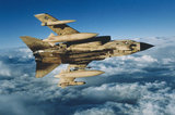 An RAF Tornado GR.1 in flight during the Gulf War, 1991.