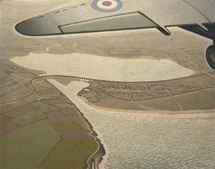 An Air View of Montrose, Angus