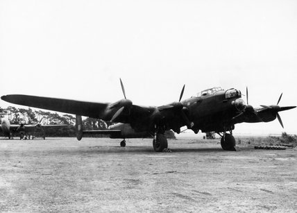 One of the specially modified Avro Lancasters used by No. 617 Squadron on the raid against the Ruhr dams, 16/17 May 1943.
