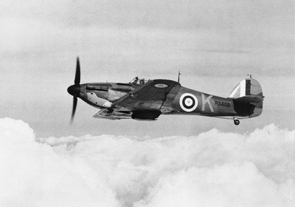 Hawker Hurricane Mk I of No. 85 Squadron RAF, October 1940.