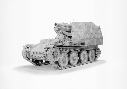 German Grille 15cm self-propelled gun.