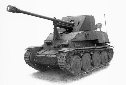 German Marder III tank destroyer.