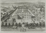 Burlington House in Pickadilly; from 'Britannia illustrata', 1707