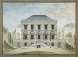 Design for a villa or casine: elevation