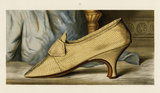 Mrs Woodcock's Shoe; from T. Watson Greig, from 'Ladies' old-fashioned shoes', 1885