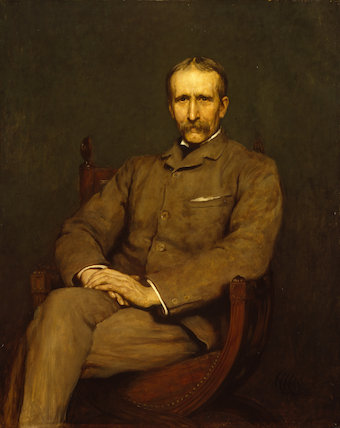 Portrait of Briton Riviere, R.A.