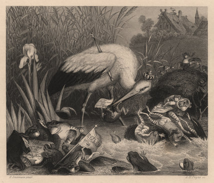 'King Stork and the Frogs'