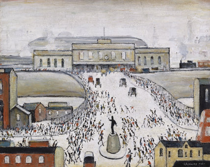 Ls Lowry S Most Famous Paintings Station Approach
