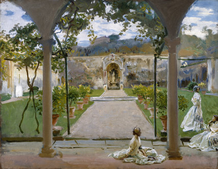 At Torre Galli: Ladies in a Garden