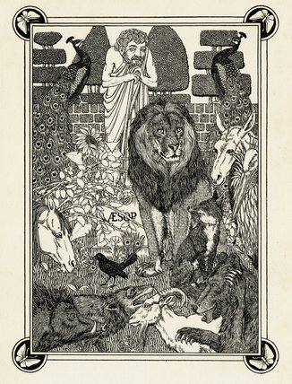 Aesop and the Animals