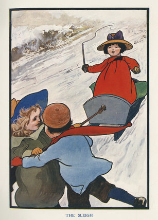 The Sleigh, from Evelyn Sharp's, 'The Child's Christmas',London: Blackie and Son, [1906]