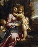 Madonna and Child with St John