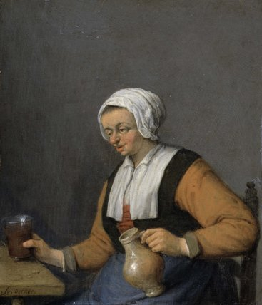A Woman with a Beer-jug