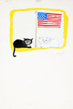 Two Cats In America