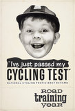 I've Just Passed My Cycling Test