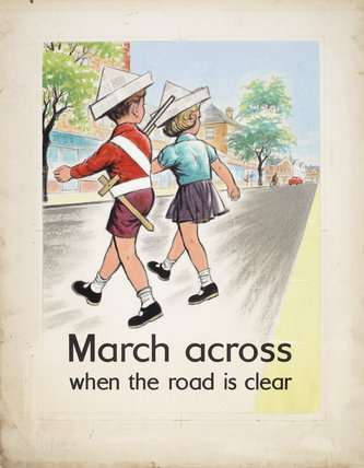 March Across When the Road is Clear
