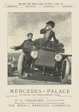 Advertisement, Mercedes - Palace, March 19, 1905