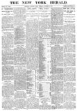 Front page, October 4th 1887. First issue.