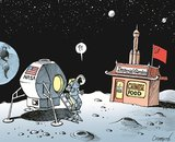 Space Race. The U.S. might step back on the moon by 2020.