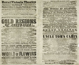 A poster for the Royal Victoria Theatre; 1853