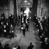 Inside the Guildhall: 1959