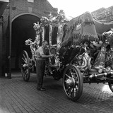 Cleaning the Lord Mayor's Coach: 1959