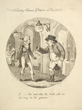 A Country Farmer and Waiter at Vauxhall: c.1830