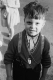 Pupil at the Old Kent Road School for the Deaf 1955