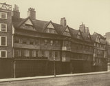 Old Houses in Holborn: 1878