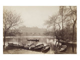 Buckingham Palace from St. James' Park; c.1875