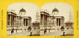 Stereoscopic view of the National Gallery: c.1865