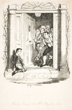 Oliver Twist at Mrs Maylie's door: 1838