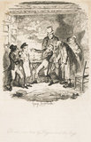 Oliver's reception by Fagin and the boys: 1838
