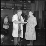Salesman and Superintendent at Billingsgate Market: 1958