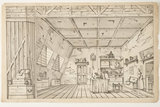 Toy theatre sheets for the play Harlequin & Fancy; 1816