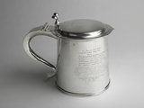 Sir Edmund Berry Godfrey tankard :1675