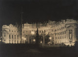 Admiralty Arch at night; 1946