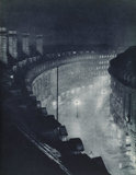 Regent Street at night; 1934