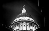Floodlit dome of St Paul's Cathedral ; 1930-1939