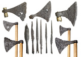Selection of Viking weapons: 11th century
