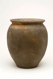 Roman black burnished jar