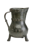 Bronze jug: 14th century