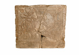 Rectangular grave slab: 11th century