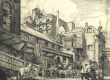 A View of the Malt Tower, The Brewery, Chiswell Street, E.C