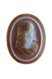 Cameo with the head of Christ: 16th - 17th century