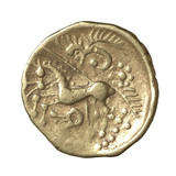 Iron Age struck gold coin or stater