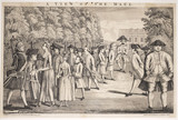 A View of the Mall: 1752